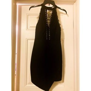 CHARLOTTE RUSSE BLACK SEXY DRESS